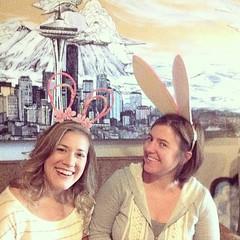 easter bunny buddies #easter #easterbunnies #happyeaster... (doodooFORyooyoo) Tags: easter rabbitears easterbunnies happyeaster uploaded:by=flickstagram instagram:venue=548594 instagram:photo=7031839820360738513975078 instagram:venuename=hollowearthradio eastercrafttime
