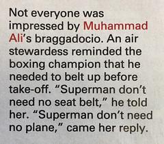 Float like a butterfly... (Brett Jordan) Tags: fly superman brett muhammadali cassiusclay theweek airstewardess brettjordan httpx1brettstuffblogspotcom