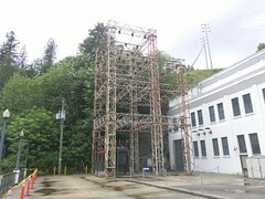 Transmission tower (Alex-Boy) Tags: canada dam columbia british hydroelectric bchydro hydroelectricity