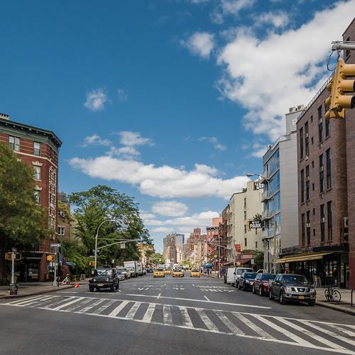 cabs ahead | new york city, september 2014 | #LumixGX7