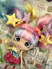 Rainbow Kate (Lawdeda ) Tags: silly love face fun toy happy rainbow doll little kate sunday happiness funday her and hah definitely raver shopkins i