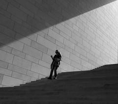 one (Georgie Pauwels) Tags: street light geometric girl wall shadows geometry candid streetphotography olympus minimal minimalism