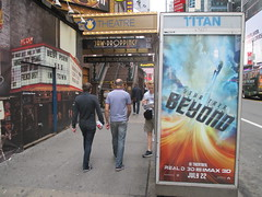 Star Trek Beyond Poster Billboard Phone Booth AD 2016 NYC 1898 (Brechtbug) Tags: show street new york city nyc fiction film television st trek booth movie poster star tv jj theater phone mr theatre near manhattan district space rip ad broadway science billboard midtown sidewalk ave captain spock scifi series beyond anton 1960s avenue abrams 7th futuristic kirk 42nd 2016 standee standees yelchin 06282016