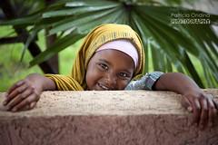 Ethiopian little girl - Petite fille thiopienne (Patricia Ondina) Tags: africa smile african softness ethiopia sourire douceur eastafrica thiopien etiopia ethiopie gentleness afriquedelest