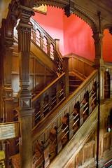 SCE_7527 (staneastwood) Tags: wood stairs hall oak cornwall 19thcentury indoor banister statelyhome nationaltrust spindle manorhouse lanhydrock staneastwood stanleyeastwood