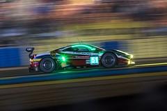 24H LEMANS 2016-2291 (STEPHANE COSTARD PHOTOGRAPHIE) Tags: light color art colors sport night race cool ferrari hours panning circuit lemans vitesse 24h gte 488 24hdumans
