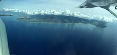 Oahu - Waimanalo side - Sandy's (Melita S.A.) Tags: ocean flying oahu pano waimanalo sandys