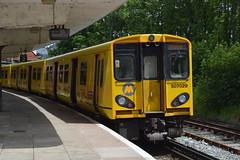 507029, New Brighton (JH Stokes) Tags: trains trainspotting tracks transport railways photography 507029 class507 merseyrail newbrighton liverpool emu electricmultipleunits publictransport