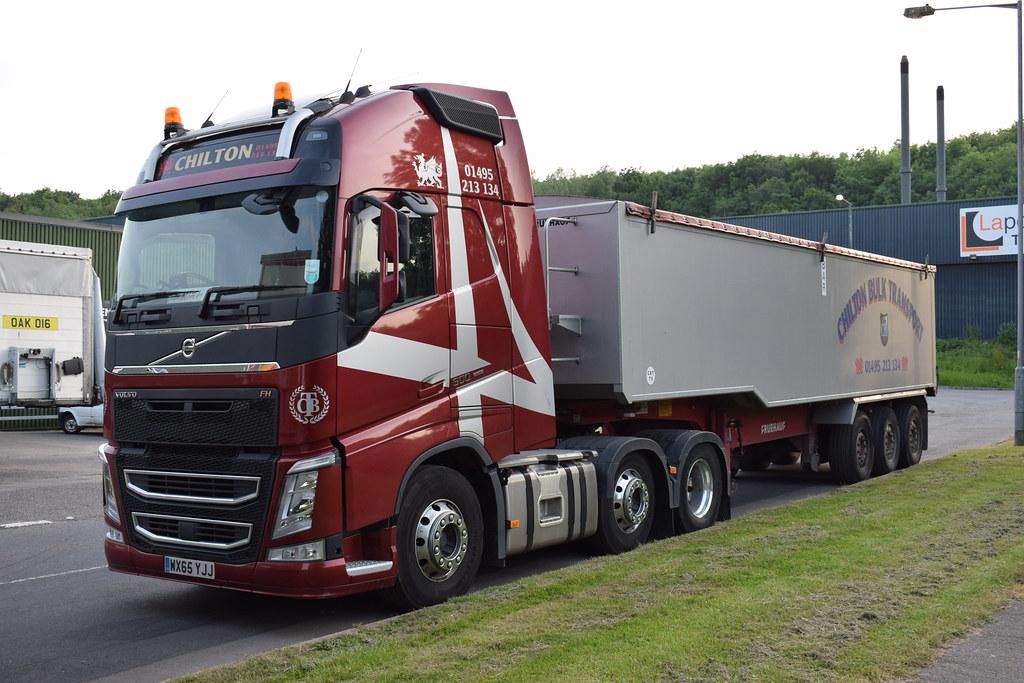 b504e3594911 Chilton Bulk Transport Volvo FH Globetrotter Bulk Tipper WX65 YJJ  (5asideHero) Tags  volvo
