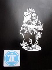 Chewbacca sticker (duncan) Tags: sticker chewbacca