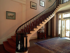 RH007759 (godataimg) Tags: houses usa stairs hall louisiana visualarts step staircase northamerica farms thesouth interiordecoration interiordesign mansions dwellings plantations stairways deepsouth designarts manorhouses madewood assumptionparish