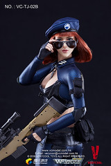 VERYCOOL TOYS VCF-TJ02 WeFire Sniper Little Sister - TJ02B Brown Hair 05 (Lord Dragon ) Tags: hot female toys actionfigure doll verycool onesixthscale 16scale 12inscale