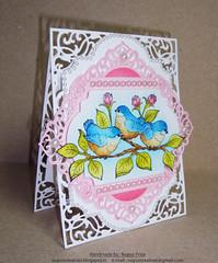 Fluffy Birdies Card 3 (Nupur Creatives) Tags: heartfelt creations heartfeltcreations