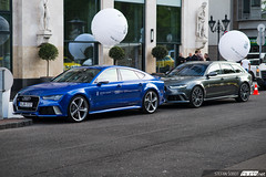 Audi RS7 & RS6 C7 Performance. (Stefan Sobot) Tags: nikon hungary budapest performance running around audi rs6 c7 d600 rs7 bud3net kadigde
