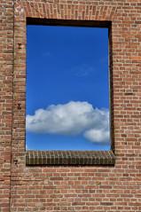 1606190293 (pixelarized) Tags: urban window wall outdoor ede lucht muur wolk enka raamkozijn zelfontspanners