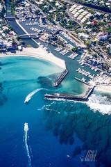 El puerto (Unte L) Tags: lumix panasonic ulm iledelareunion lagon saintgilleslesbains reunionisland ocanindien vuearienne