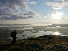 Rannoch Moor from Meall Mor (pinkpebbleperson) Tags: dawn scotland spring argyll glencoe rannochmoor meallmor