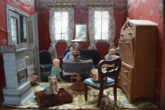 "German ""Puppenstube"" (shero6820) Tags: old vintage dolls antique german dollshouse puppenstube roombox"