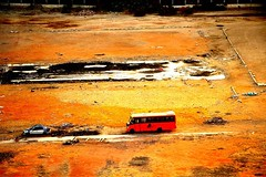 Lonely Bus (AlessandroDM) Tags: egypt cairo egitto