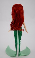 2016 Ariel Classic 12'' Doll - US Disney Store Purchase - Deboxed - Standing - Full Rear View (drj1828) Tags: disneystore doll 12inch classicprincessdollcollection 2016 ariel purchase deboxed standing