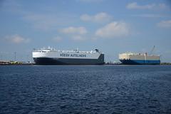 ICO Terminal (DST_1849) (larry_antwerp) Tags: heghamsterdam hoeghamsterdam frontierace internantionalcaroperators roro pctc ico hoegh hegh antwerp antwerpen       port        belgium belgi          schip ship vessel