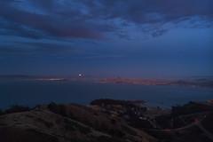 Summer Solstice Evening - 4 (fksr) Tags: evening summersolstice marinheadlands marincounty california landscape fullmoon moonrise sanfranciscobay sanfrancisco