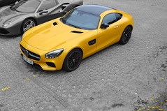 Solarbeam (kaboem) Tags: mercedes amg gts selectivecoloring solarbeam mercedesamggts