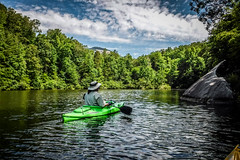 Lake Oolenoy Kayaking-15 (RandomConnections) Tags: us unitedstates southcarolina kayaking paddling pickens pickenscounty lakeoolenoy tablerockstatepark knobhistorical
