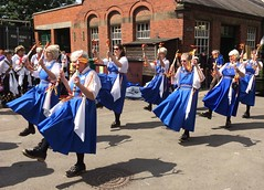 Abbey Pumping Station Leicester 25th June 2016 (loose_grip_99) Tags: uk england people abbey station june bells dancers dancing leicestershire leicester clogs morris pumping 2016
