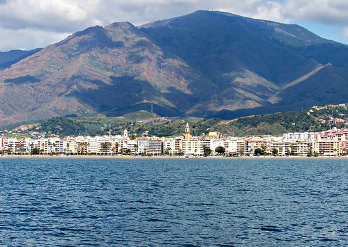 estepona mountain and sea