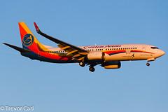 Caribbean Airlines | 9Y-JMA | Boeing 737-8Q8 | YYZ | 05.04.2013 (Trevor Carl) Tags: canon airplane eos photo aviation transport boeing yyz torontopearsoninternational 60d caribbeanairlines 7378q8 alltypesoftransport 9yjma