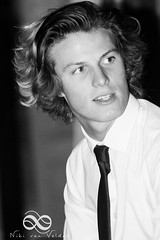 So young and handsome (Niki van Velden) Tags: portrait blackandwhite bw male young handsom