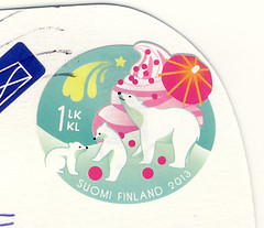Finland May (postcardlady1) Tags: stamp briefmarke