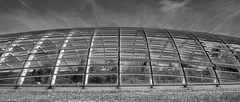 Glass dome (alunb) Tags: wales architecture carmarthenshire nationalbotanicgarden