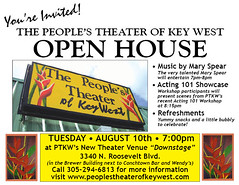 The People's Theater of Key West (princeangus333) Tags: west actors key theater butterflies peoples acting apocalyptic downstage ptkw