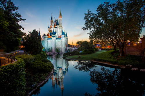 Magic Kingdom - Cinderella Castle Sunrise