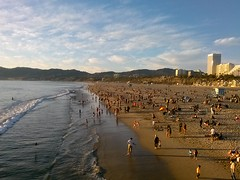 CAM00202 (Kaseim Johnson) Tags: ocean california santa ca sunset beach los angeles monica