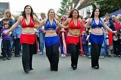 Syren Alternative Belly Dancers - Prestbury Jubilee Street Party (griffp) Tags: woman female photo dance dancers dancing jubilee sony syren belly mirage bellydance tamron bellydancing bellydancers 18200mm a390 prestbury burgage