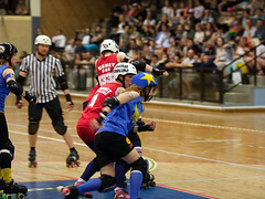 "Stockholm BSTRDs vs. Dock City Rollers-25 • <a style=""font-size:0.8em;"" href=""http://www.flickr.com/photos/60822537@N07/8996351764/"" target=""_blank"">View on Flickr</a>"