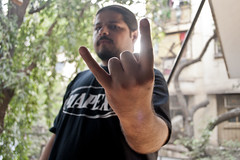 Demonstealer, Sahil Makhija (naman.saraiya) Tags: people music rock metal portraits heavymetal workshop portraiture punkrock mumbai deathmetal indianrock demonicresurrection demonstealer sahilmakhija indianindie reptiliandeath demonstealerrecords
