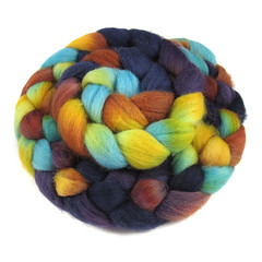 Sedona Sunset - English Shetland (Into The Whirled) Tags: wool silk merino spinning fiber bfl itw masham intothewhirled