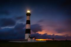 20130624-Bodie Lighthouse with rising Supermoon (Adam Berry Photography) Tags:  lighthouse adam photography berry nikon outerbanks bodieislandlighthouse bodieisland abphoto d700 nikond700 nikon1424 adamberryphotography