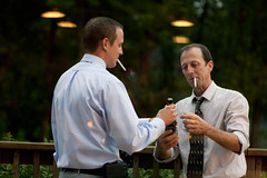 Smoking (jessieflori) Tags: wedding portrait men night outside dusk guys smoking cigarettes smoker classy