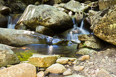 Quiet place (doveoggi) Tags: longexposure newyork green water rocks stream millstream 6157 piseco dailynaturetnc12 photocontesttnc13