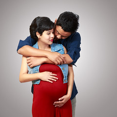 Beautiful pregnant woman and her husband (Patrick Foto ;)) Tags: life family two portrait people woman baby white man male love beautiful smile female asian thailand happy hug couple pretty hand married adult background father young mother pregnancy couples happiness husband stomach pregnant belly parent tummy thai attractive wife concept brunette care cheerful motherhood embrace isolated tenderness expectant expecting clippingpath
