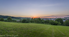 Summer Sunset (andreasheinrich) Tags: sunset summer germany evening warm hdr 32bit southgermany neckarsulm dahenfeld