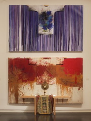 Hermann Nitsch: Splatter Paintings with Painting Shirts, Chasuble, Monstrance  - Schüttbilder mit Malhemden, Monstranz, Kasel - nitsch museum MZM, Mistelbach