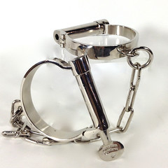 Handcuffs/Shackles/ 2 in stock/ $20/week (Film Biz Recycling) Tags: jail shackles handcuffs arrest