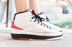 WDYWT - 10.15.13 (dunksrnice) Tags: red white chicago black you air jr retro wear jordan ii what 1995 did today rolo 2013 wdywt tanedo dunksrnice wwwdunksrnicenet rolotanedo dunksrnicenet rolotanedojr vision:text=071