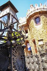 Parc Guell (iciclemelts) Tags: barcelona park españa art architecture landscape spain mosaic gaudi parcguell trencadis
